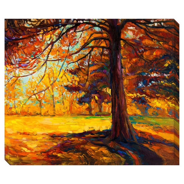 Gallery Direct Autumn Tree Oversized Gallery Wrapped Canvas