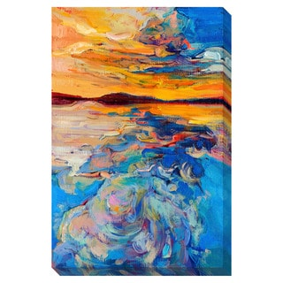 Gallery Direct Sunset on the Water Oversized Gallery Wrapped Canvas