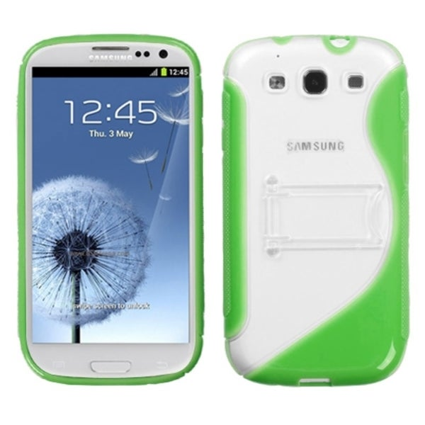 INSTEN Green S Phone Case Cover for Samsung Galaxy S III/ S3