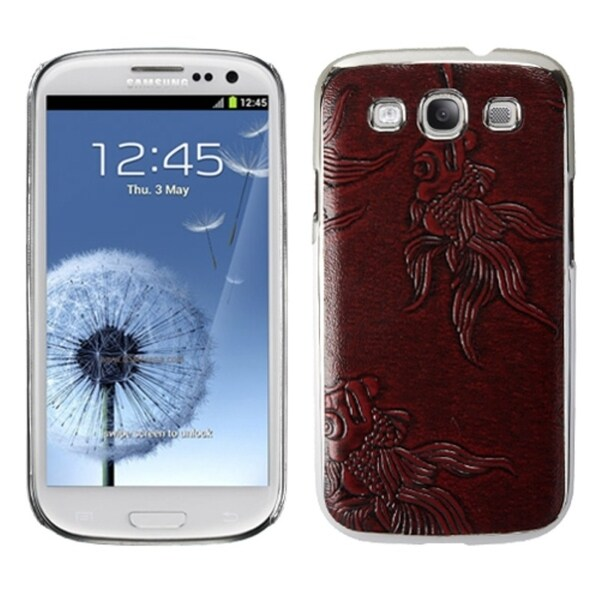 MYBAT Red Silver Case for Samsung Galaxy S III/ S3