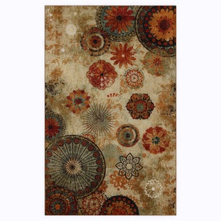 Mohawk Home Alexa Indoor/ Outdoor Printed Medallion Rug (5' x 8')