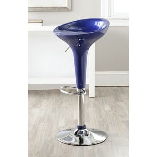Safavieh 23.2-31.7-inch Sacha Navy Adjustable Swivel Bar Stool