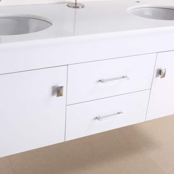 Alyssa 56 Inch Double Sink Vanity Set Overstock 7894302