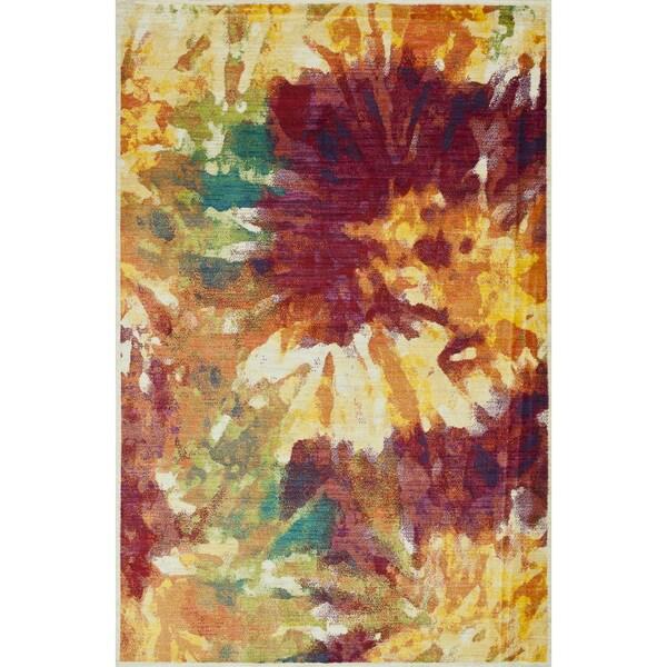 Skye Monet Flame Rug (2'0 x 3'0)