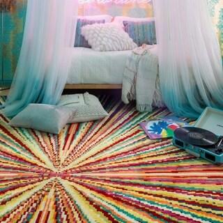 Skye Monet Prism Rug (3'9 x 5'2)