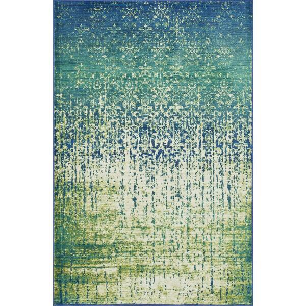 Shop Skye Monet Blue Cascade Rug 2 0 X 3 0 On Sale