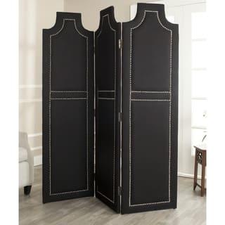 Safavieh Darcy Black 3-piece Folding Screen|https://ak1.ostkcdn.com/images/products/7894347/P15275361.jpeg?impolicy=medium