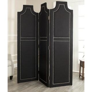 Safavieh Darcy Black 3-piece Folding Screen