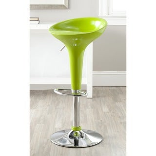 Alpha Contemporary Bombo Style Adjustable Barstool