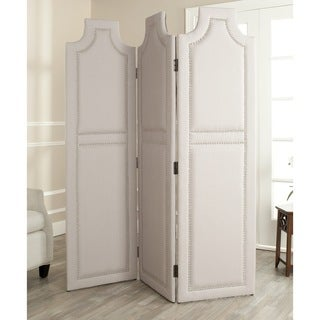 Safavieh Darcy Taupe 3-piece Folding Screen