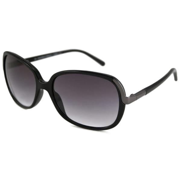 Calvin Klein Women's CK7824S Rectangular Black Sunglasses