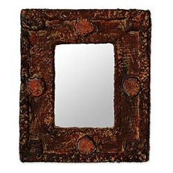 Handcrafted  'Hand of the Lord' Mirror (Ghana)