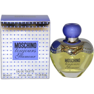 Moschino Toujours Glamour Women's 1.7-ounce Eau de Toilette Spray