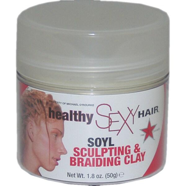 Healthy Sexy Hair Soyl Sculpting & Braiding Clay