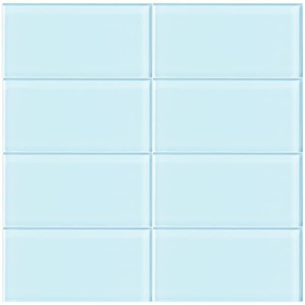 ML03 Vapor 3-Inch x 6-Inch Glass Tile (10 Sheets)