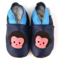 Chunky Monkey Soft Sole Leather Baby Shoes