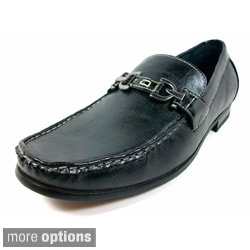 Ferro Aldo Men's Buckle Front Loafers