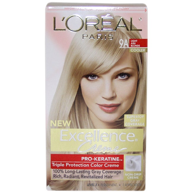 L'Oreal Superior Preference Fade-Defying #9A Light Ash Bl...