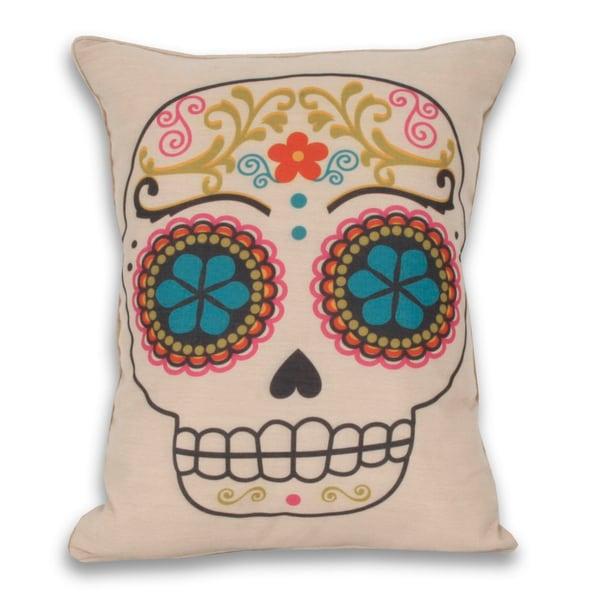Sugar Skulls Reversible 14 x18-inch Throw Pillow