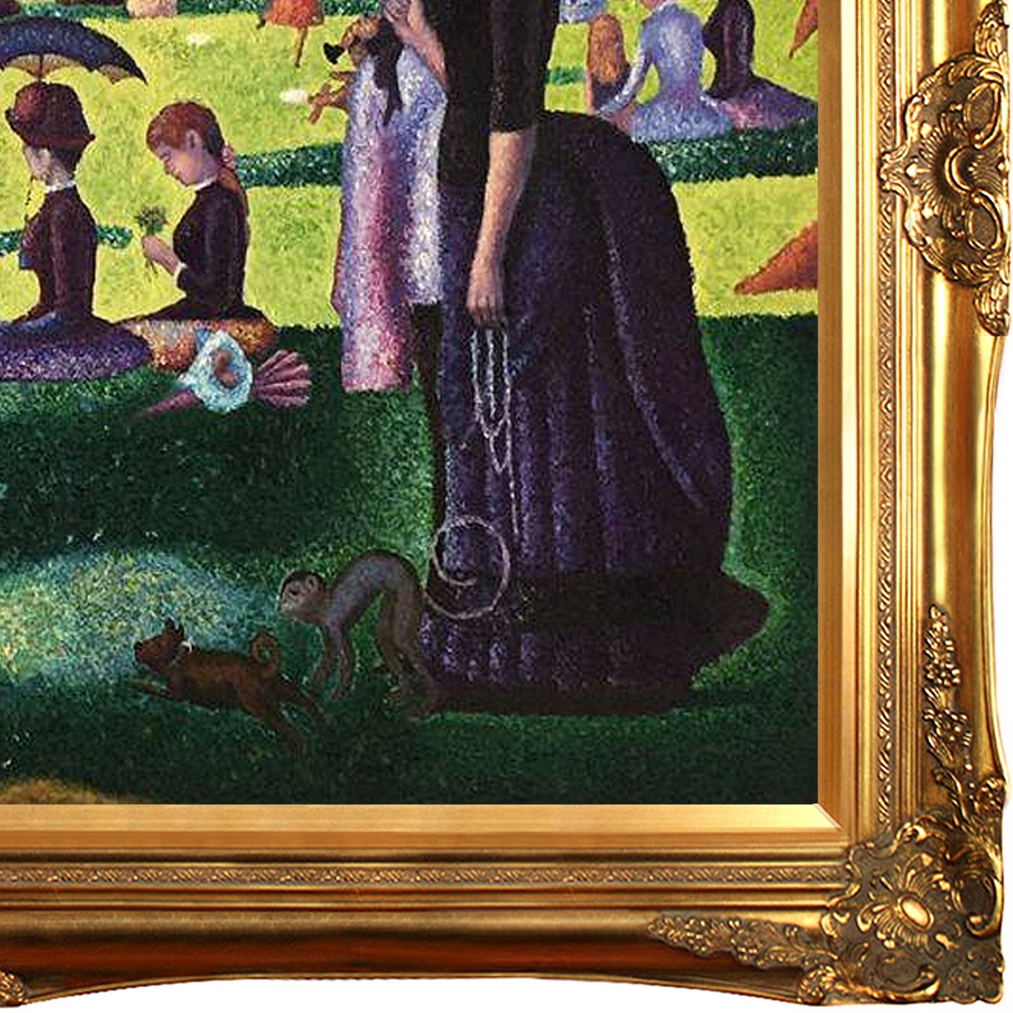 An Afternoon At La Grande Jatte. @ 'A Sunday Afternoon On
