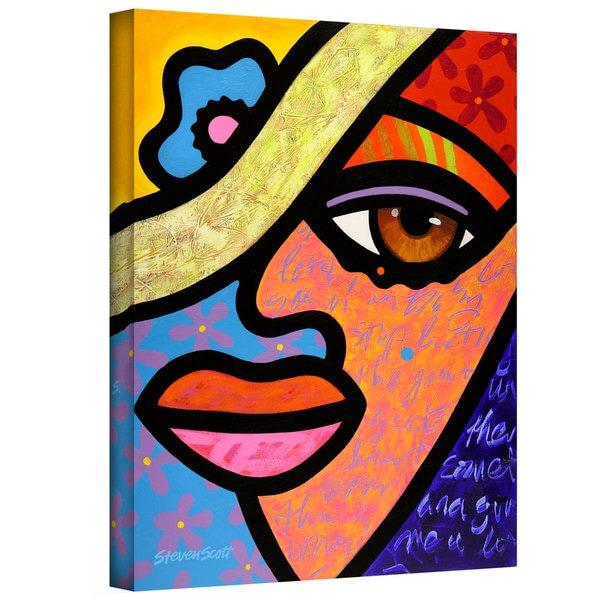 Steven Scott 'Sweet City Woman' Gallery-wrapped Canvas