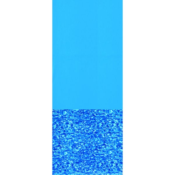 Swimline 48/52 Inch Deep Swirl Bottom Oval Overlap Pool Liner