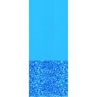 Swimline 48/52 Inch Deep Swirl Bottom Round Overlap Pool Liner