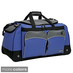 Traveler's Club Adventurer 28-inch Multi-Pocket Duffle Bag