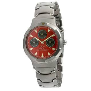 Gino Franco Men's Red Dial Calendar Watch|https://ak1.ostkcdn.com/images/products/7894982/Gino-Franco-Mens-Red-Dial-Calendar-Watch-P15275897.jpg?impolicy=medium