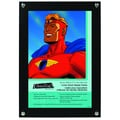 MCS 6-Inch x 10-Inch Black Comic Book Display Frame