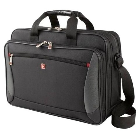 """Swissgear Carrying Case (Briefcase) for 15.6"""" Notebook - Black"""