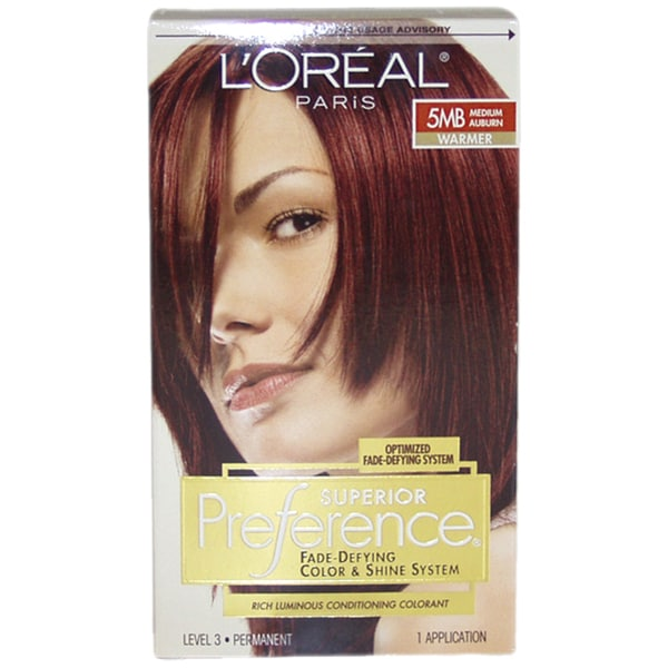 L\u002639;Oreal Superior Preference FadeDefying 5MB Medium