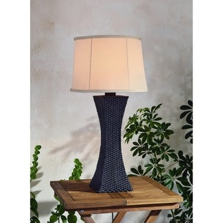Outdoor Woven Table Lamp