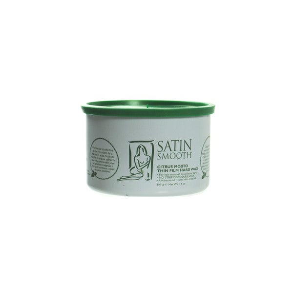 Satin Smooth Citrus Mojito Thin Film 14-ounce Hard Wax