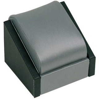 Caddy Bay Collection Single Watch Gunmetal Grey and Black Display Stand