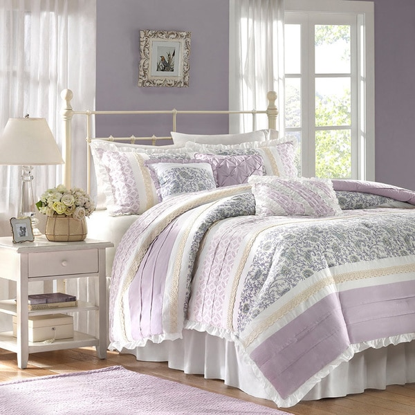 Madison Park Ruby Cotton 6-piece Duvet Cover Set