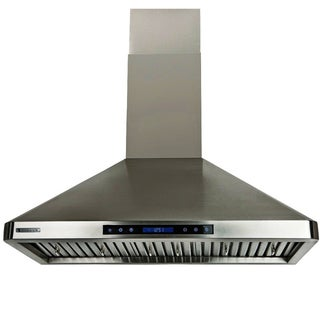 XtremeAir PX02-W30 30-inch 900 CFM Stainless Steel Wall Mount Range Hood