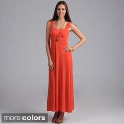 24/7 Comfort Apparel Women's Sweetheart Maxi Dress