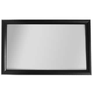Cypress Collection Black/ Champagne Trim Wall Mirror