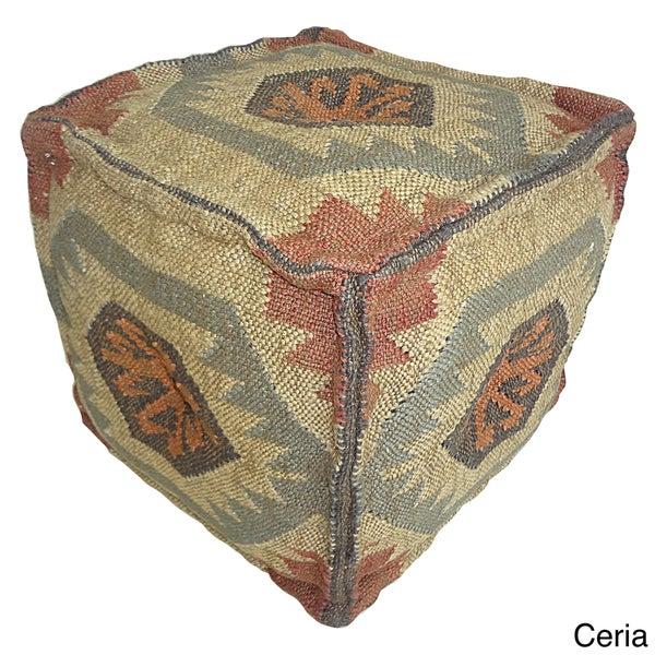 Kosas Home Cordia 17-inch Cube Pouf