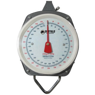 Buffalo Outdoor 550-pound Capacity Hanging Scale