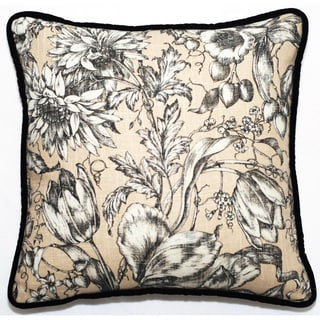 Corona Decor Floral 18-inch Throw PIllow