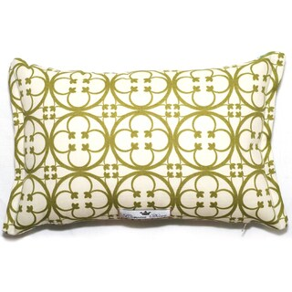 Corona Decor Clover Pattern Outdoor Living 17 x 11-inch Throw Pillow
