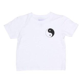Yogacara Kids 'Ying Yang' Cotton T-shirt