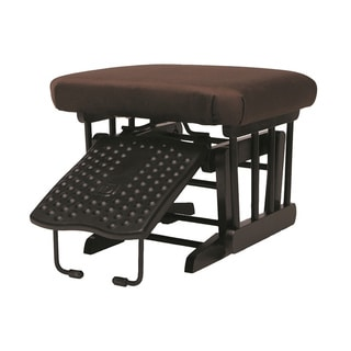 Dutailier Espresso/ Chocolate Nursing Ottoman for Sleigh and 2-post Gliders