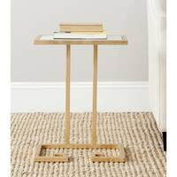 Safavieh Treasures Murphy Gold/ White Top Accent Table