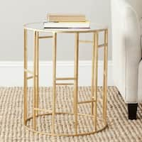 Safavieh Treasures Doreen Gold/ Mirror Top Accent Table
