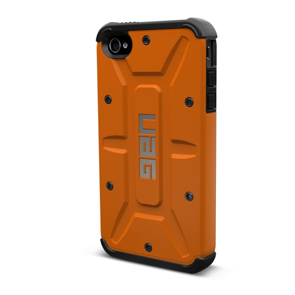 Urban Armor Gear Case for Apple iPhone 5 w/ Screen Protector - Rust