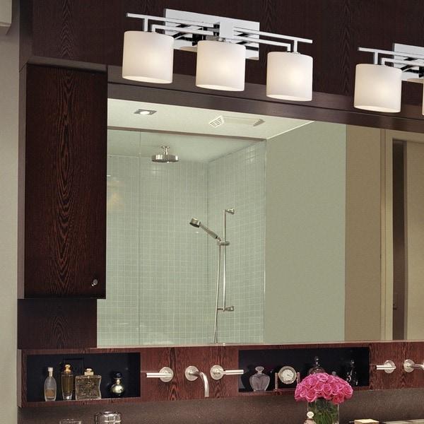 Shop Justice Design Group Fusion Aero 3-light Polished Chrome Bath ...