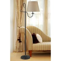 Design Craft Victor Floor Lamp - Golden Flecked Bronze